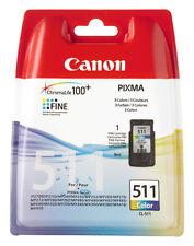 CANON ORIGINAL CL-511 DRUCKER PATRONE PIXMA MX320 MX330 IP2700 MP240 MP260 COLOR