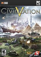 Sid Meier's Civilization V (PC DVD, 2010) 2K Games, Firaxis Games, Everyone 10+