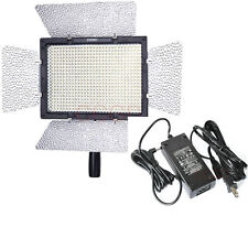 YN-600 LED Video Light Lamp for Canon Nikon Camcorder Camera + Power AC Adapter