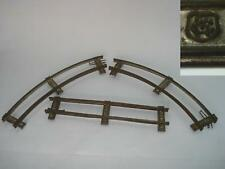 1920s ANTIQUE GERMAN MARKLIN TRAIN TRACKS – SET OF 3