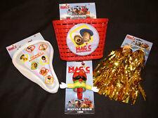 Magic-rotatoria Girlie BICI regalo confezione; cesto, stelle filanti, CORNO + gratis COVER SELLA