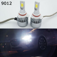 C6 9012 HIR2 LED COB Headlight 36W 3800LM Bulb 6000K White Fog Light  HI/LO