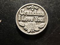 GRANDMA I LOVE YOU TOKEN!   BB422XCU