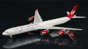 Virgin Atlantic Airbus A340-600 G-VRED Phoenix PH4VIR2162 04389 Scale 1:400