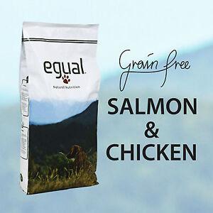 Grain Free EGUAL SALMON & CHICKEN FORMULATOSENZA CEREALI CON PESCE FRESCO 15Kg