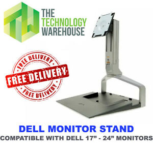 """Dell Monitor Stand RM361 - for 17"""" to 24"""" Monitors - + Docking Station Space"""
