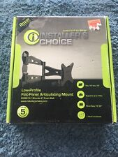 Razor Series Installer's Choice Low Profile Flat Panel Articulating Mount ISO900
