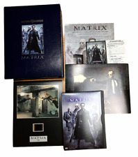 The Matrix Special Collectors Edition Dvd w/ Collector Film Cell and Prints