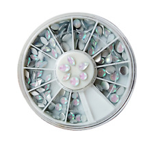 110 OPALESCENT AB SHAPED RHINESTONE WHEEL - # 211 nail art crystal craft