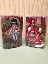 Mad Hatter & Queen of Hearts Barbie Collections, Brand NEW NRFB , 2007