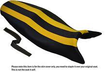 Colección de diseño Negro Y Amarillo personalizado se adapta a Triumph Street Triple 675 07-12 cubierta de asiento