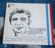 GILBERT BECAUD ANTHOLOGY 2LP GERMANY COLUMBIA 1C 152-12 653/54