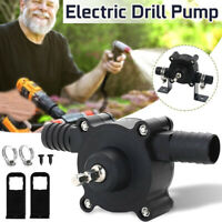 Hand Electric Drill Drive Self Priming Pump Oil Fluid Water Transfer Small Pumps