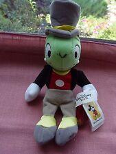"""New Jiminy Cricket bean bag plush 9"""" Walt Disney World"""