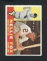1960 Topps #100 Nellie Fox EX/EX+ White Sox 122994