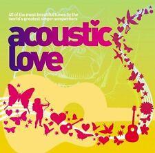 Artistes Divers - Acoustique Amour Volume 2 - 2006 - 2 CD Album - 40 Great