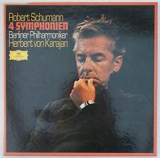 Schumann, 4 Symphonien/Ouvertüre, Scherzo und Finale, Karajan [DGG 2740 129]