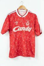 "Liverpool F.C. 1989 - 1991 Home Shirt Camiseta Trikot Candy 40""-42"" Large"
