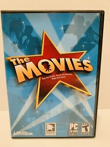 The Movies (PC, 2005) Hollywood Simulation Game by Activision