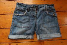 Denim shorts size 6 by Dorothy Perkins