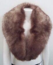 collo stola scialle pelliccia di volpe lunghezza cm 125 larghezza max cm 14