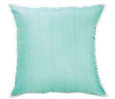 Bianca Vivid Coordinates Mint Quilted European Pillowcase RRP $34.95