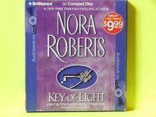 Key Trilogy: Key of Light 1 by Nora Roberts (2010, CD, Abridged)