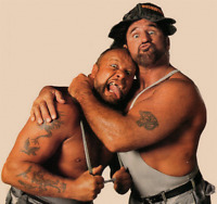 The Bushwhackers Luke & Butch Wrestling Photo 8x6 Inch WWF WCW Photograph