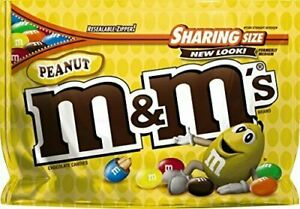 M&M'S Peanut Chocolate Candy Sharing Size
