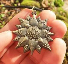 Lotus Seed Of Life Pendant. Original Design By Melanie Bodnar For Enlighten Clot