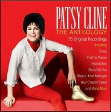 Patsy Cline The Anthology 3-CD NEW SEALED Country Crazy/I Fall To Pieces/Anytime