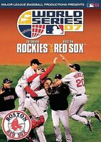 2007 World Series: Colorado Rockies Vs. Boston Red Sox (DVD, 2007)