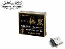 Cartucce Sailor Kiwaguro Nano Ink | Cartucce Penne Stilografiche Ink Cartridges