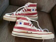 VTG. Converse All Star sneakers sz 9 Stars & Strips American Flag