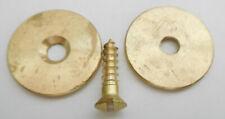 Lee Enfield Smle No. I Mk. Iii Brass Butt Stock Disc w/ Screw
