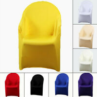 Home Arm Chair Cover Stretch Spandex Chair Cover Wedding Party Beach Chair