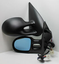 1 Paar Design Sportspiegel Peugeot 206, 98-03, Sport Spiegel elektrisch Heizung
