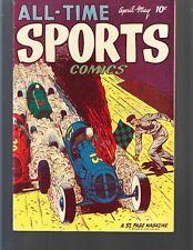 ALL-TIME SPORTS COMICS #4 1949 HILLMAN 52pgs NM-
