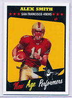 2005 TOPPS HERITAGE NEW AGE PERFORMERS #NAP12 ALEX SMITH RC SAN FRANCISCO 49ERS