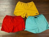 Authentic Patagonia 5' Baggies Shorts (Men's US Size L) ~ NEW W/O Tags