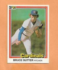 BRUCE SUTTER DONRUSS 1981 CARD # 560