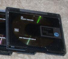 1x Mini Disk TDK MD-RXG 74 - die goldene -  in Hülle - gelöscht - Top-Quality