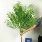 9 Heads Tropical Artificial Palm Tree Large Plants Leaves Fake Palm Leafs Decors