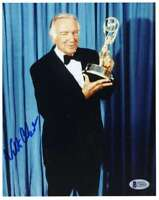 WALTER CRONKITE BAS Beckett Coa Hand Signed 8x10 Photo Authentic Autograph