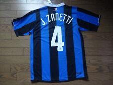 Inter Milan #4 Zanetti 100% Original Jersey Shirt M BNWT NEW 2006/07 Home Rare