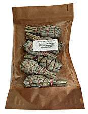 Californian White Sage Smudge Sticks Wands x 6 -SIX Smudging Pagan Wicca