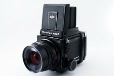 Mamiya RB67 Pro S w/ Sekor C 90mm f3.8 Lens 120 Film Back From Japan #201794