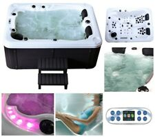 HOME DELUXE Whirlpool Outdoor Aussenwhirlpool Hot Tub Spa Pool Heizung 51 Düsen
