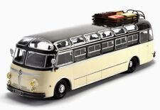 SUPERB HACHETTE 1/43 ISOBLOC 648DP 648 DP BUS/COACH CREAM & BLACK FRANCE 1955