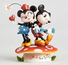 The World of Miss Mindy Disney Folk Art Figure - Mickey & Minnie Mouse - 4058894